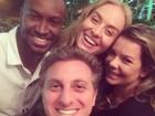 Huck e Angélica serão padrinhos de Fernanda Souza e Thiaguinho
