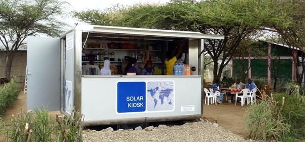 Solar kiosk (Foto: Divulgação)