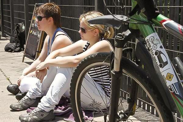 Musicletada leva a galera da bike para curitir boa música, em Curitiba (Foto: Euricles Macedo/RPC TV)