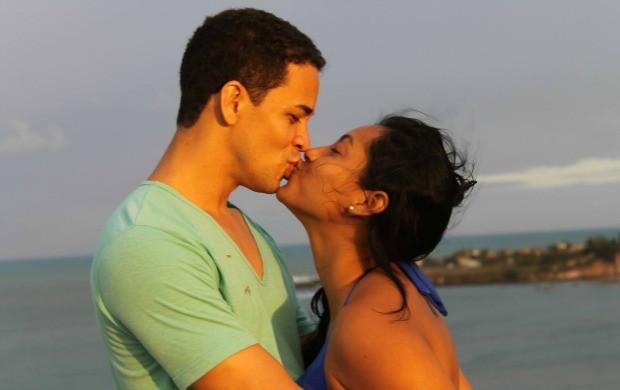 Casal está juntos há 5 anos (Foto: Jailson Santos/Arquivo Pessoal)