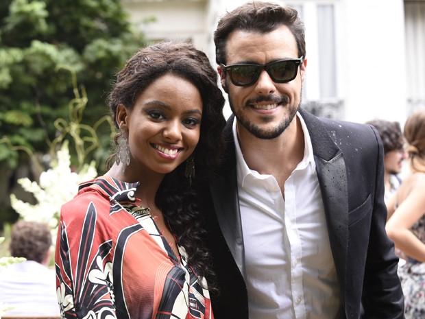 Eli Ferreira e Joaquim Lopes também marcam presença nas gravações  (Foto: Raphael Dias/TV Globo)