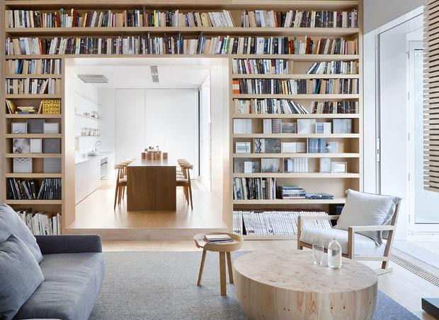 Casa minimalista com toques de aconchego casa vogue casas for Casa minimalista living