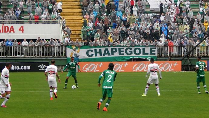 Chapecoense x São Paulo (Foto: Cleberson Silva/Chapecoense)