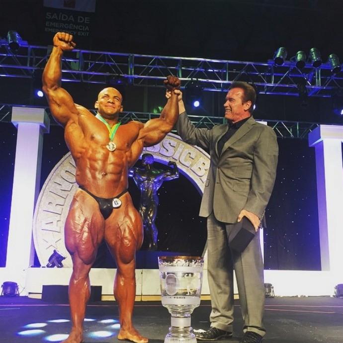 Mamdouh Elssbiay vence Arnold Classic o coisa (Foto: Reprodução/Instagram)