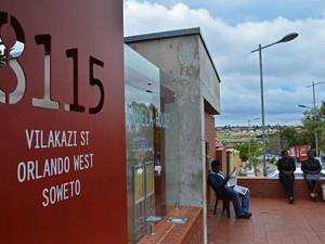 Mandela House Museum, a casa onde morou Nelson Mandela em Soweto (Foto: Carl de Souza/AFP)