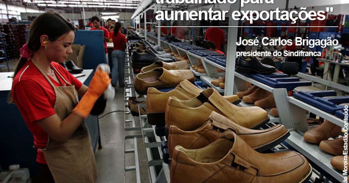 2a6cbd4a0 G1 - Indústria de calçados de Franca mira em mercado externo para driblar  crise - notícias em Negócios