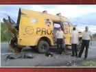 Grupo ataca carro-forte e explode veículo em trecho da BR-116, na Bahia