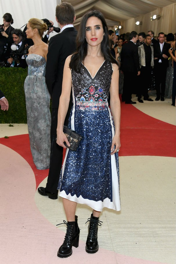 Jennifer Connelly, de Louis Vuitton (Foto: Getty Images)