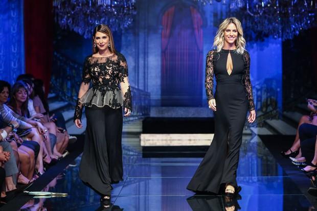 Fernanda Paes Leme e Giovanna Ewbank (Foto: Manuela Scarpa/Photo Rio News)