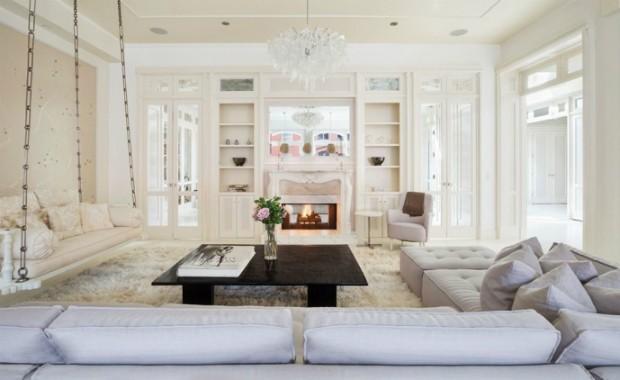 Sala de estar (Foto: Reprodução/ Compass)