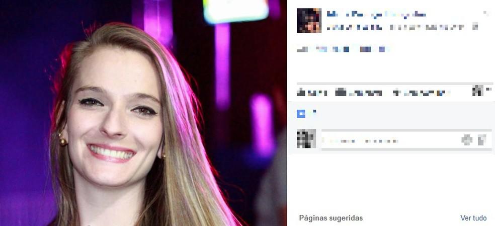 O corpo de Vanessa foi encontrado pelo irmão; ele estranhou a demora da irmã em chegar ao mercado da família onde ela trabalhava (Foto: Facebook/Reprodução)