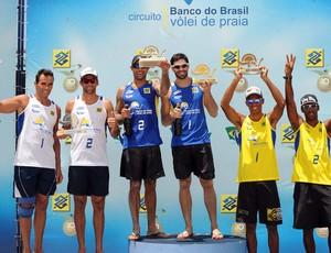 Bruno e Hevaldo (Foto: Maurício Kaye/divulgação CBV)