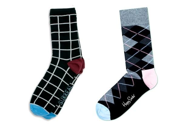 Meias Surreal e Happy Socks (Foto: Divulgação)