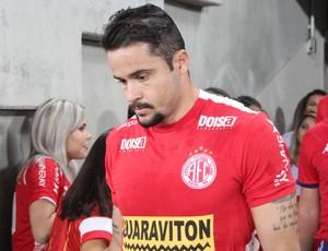 Zé Antônio - volante do América-RN (Foto: Fabiano de Oliveira)