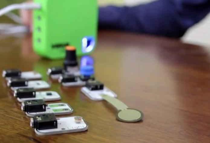 Sensores captam movimentos e pressão dos usuários (Foto: Reprodução/Kickstarter)