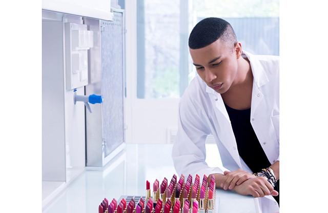 Olivier Rousteing assina coleção-cápsula de batons para a  L'Oréal Paris  (Foto: Divulgação)