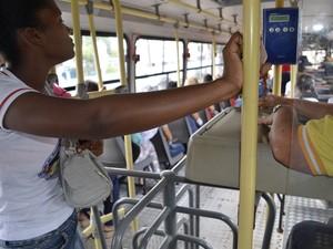 Empresas afirmam que 95 mil passagens são efetuadas todos os dias na capital (Foto: Abinoan Santiago/G1)