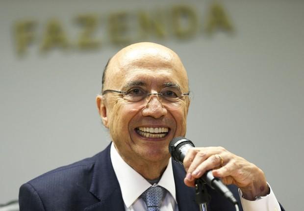 O ministro da Fazenda, Henrique Meirelles, fala sobre as mudanças na política econômica após primeira reunião ministerial (Foto: Marcelo Camargo/Agência Brasil)