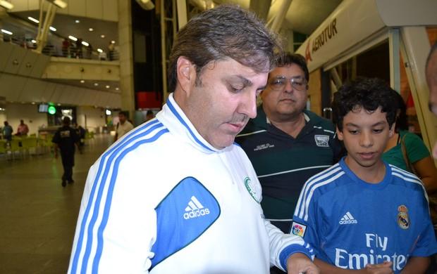 Gilson Kleina, técnico do Palmeiras (Foto: Jocaff Souza)