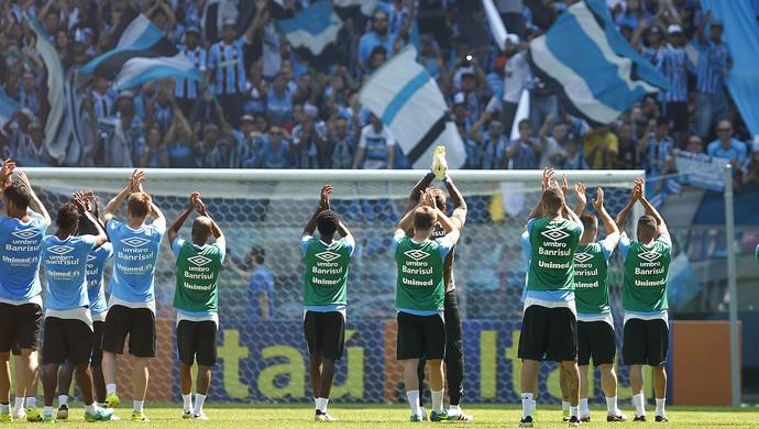 Grêmio treino Arena (Foto: Lucas Uebel/Grêmio/Divulgação)