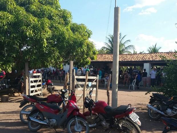 6c2c54cd98 Clima de tristeza na casa das vítimas de chacina no Sul do Piauí (Foto