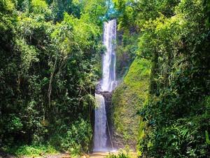 Cachoeira da Cassarova tem 60 metros de altura (Foto: Ecoparque Cassorova/Divulgação)