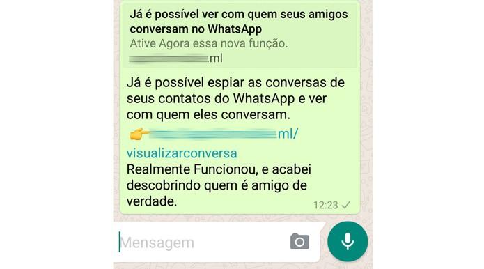 Aplicativo que promete ler mensagens de amigos é vírus (Foto: Divulgação/Psafe)