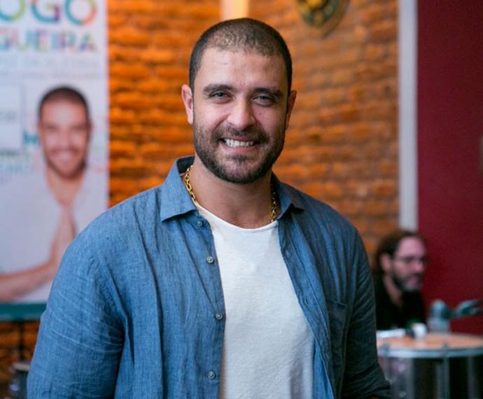Diogo Nogueira em entrevista ao Gshow (Foto: Isabella Pinheiro/Gshow)