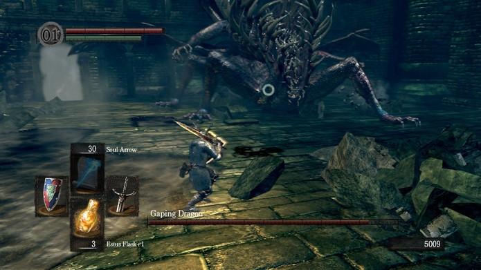 Os status de cada coisa variam em Dark Souls (Foto: Divulgação/Bandai Namco)