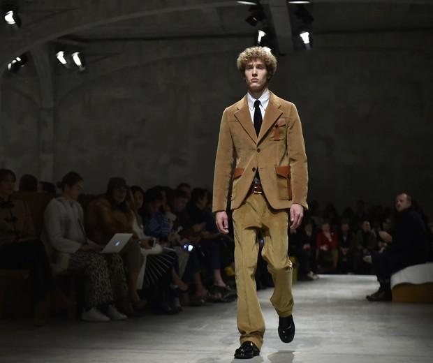 Prada na Semana de Moda 2017, em Milão (Foto: getty images)