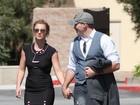 Britney Spears é vista de mãos dadas com novo namorado pela primeira vez