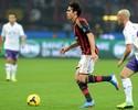 Com Kaká, Milan decepciona torcida e cai para a Fiorentina. Robinho é banco