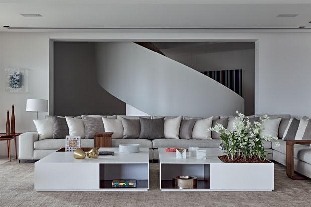 Sala branca: 14 jeitos de decorar (Foto: Ruy Teixeira)