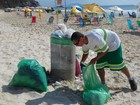 Comcap conclui operação verão e coleta deixa de ser diária nas praias