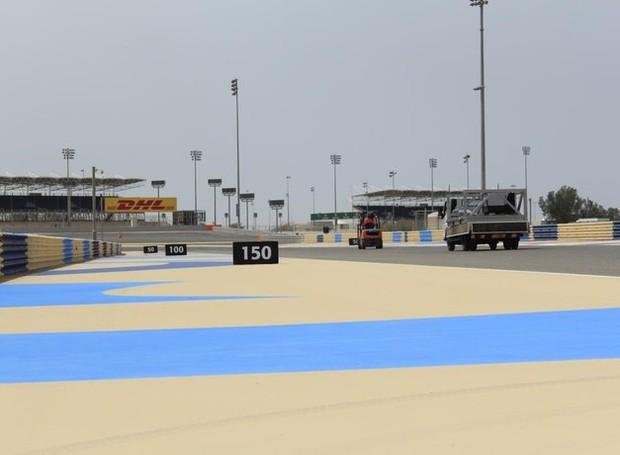 Circuiro de Sakhir, palco do GP do Bahrein (Foto: Divulgação) (Foto:  (Foto: Divulgação))