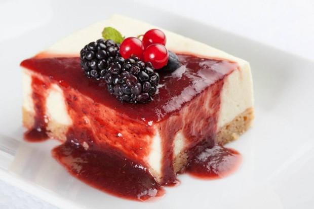 Receita cheesecake com frutas vermelhas (Foto: divulgação)