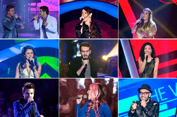 Paranaenses The Voice Brasil (Foto: Gshow)