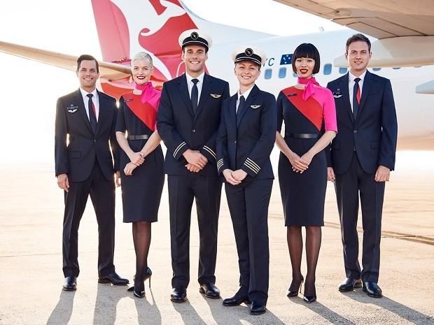 Uniforme da Qantas (Foto: Divulgação)