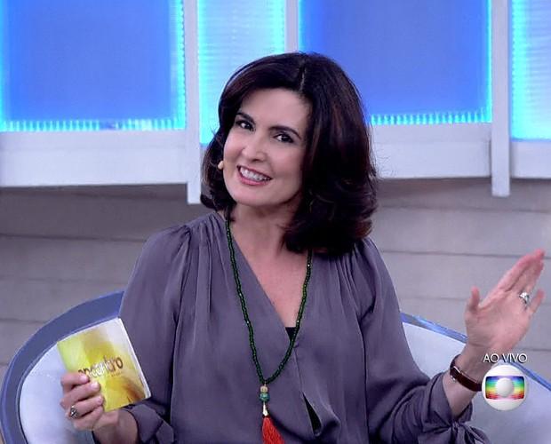 Fátima manda recado para William no Dia dos Namorados (Foto: TV Globo)