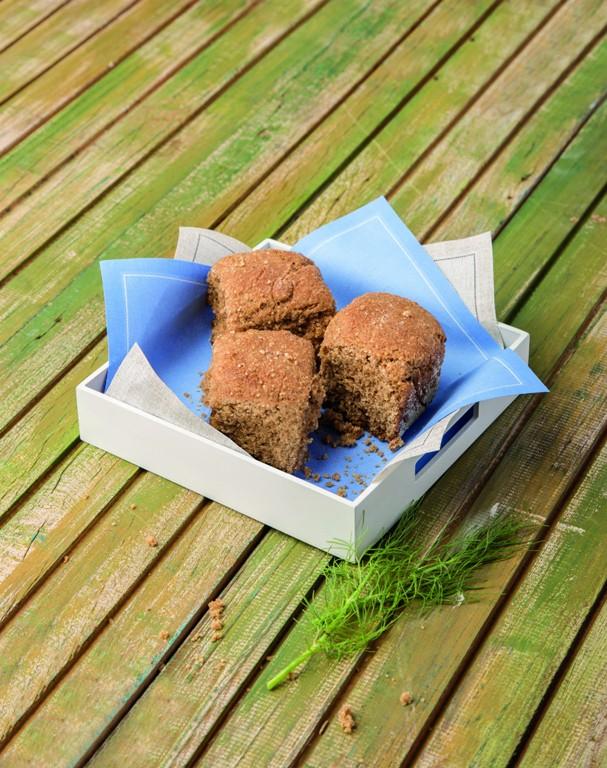 Pãozinho integral com açúcar de coco (Foto: Divulgação/Cesar Godoy)