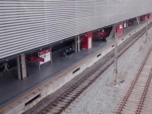 Nova estação de Suzano  (Foto: Maiara Barbosa/ G1)