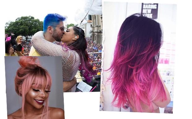 Preta Gil e o marido Rafael Godoy apareceram com o cabelo colorido; inspire-se! (Foto: Reprodução / Instagram)