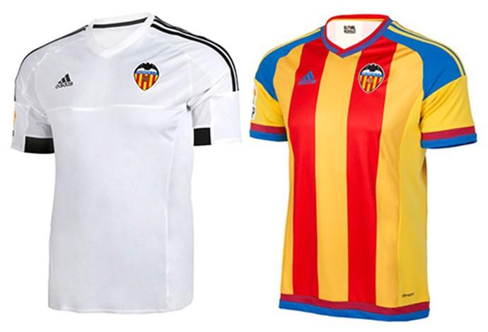 Camisas espanhol Valencia
