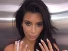 Kim Kardashian troca aliança por anéis em homenagem a filha