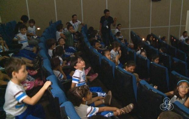 Boa Vista recebe a Mostra Itinerante de Cinema (Foto: Roraima TV)