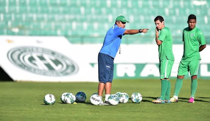 Marcelo Chamusca, técnico Guarani, Fumagalli (Foto: Marcos Ribolli/GloboEsporte.com)