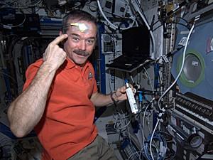 Astronauta Chris Hadfield (Foto: Reprodução/Chris Hadfield/Twitter)