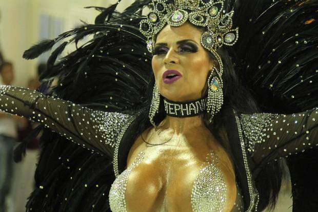 Solange Gomes - Rainha da Escola Porto da Pedra (Foto: Solange Gomes)
