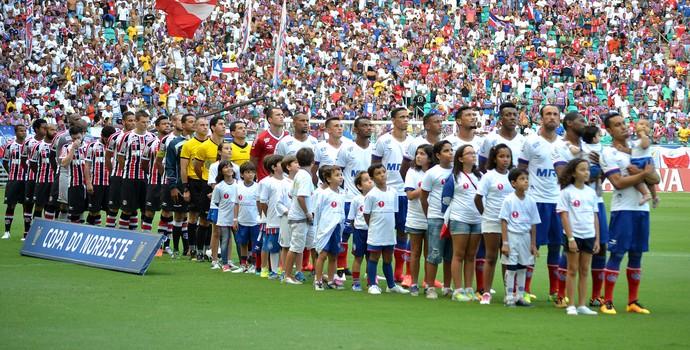 Bahia x Santa Cruz; Copa do Nordeste (Foto: Estadão Conteúdo)