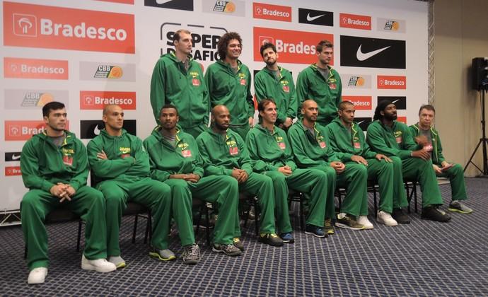 Seleção brasileira basquete São Paulo (Foto: David Abramvezt)